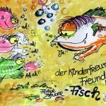 Kinderfreund-Fisch