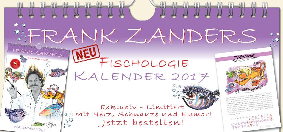 Frank Zanders Fischologie – Kalender 2017