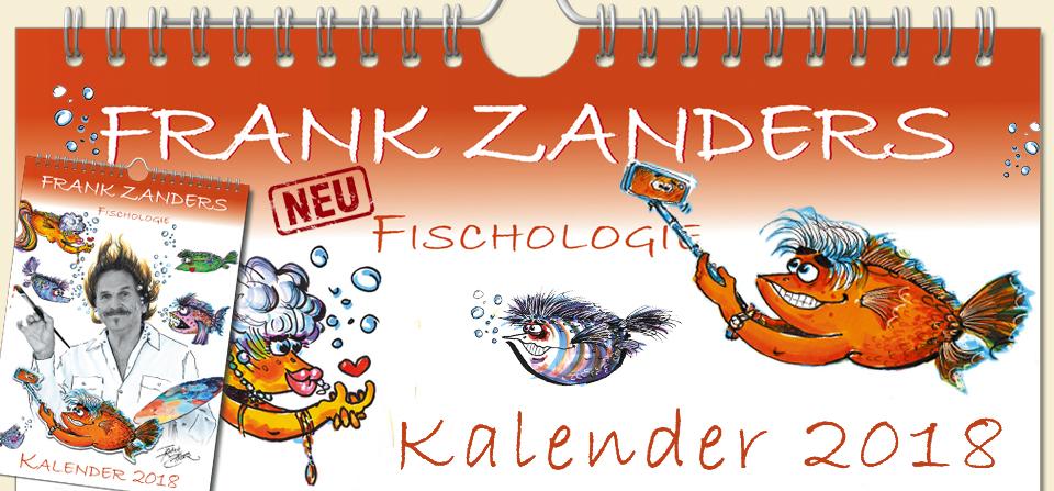 Frank Zanders Fischologie – Kalender 2018